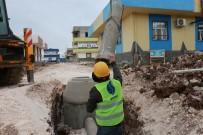 VİRANŞEHİR - Viranşehir'de Kanalizasyon Hattı Döşeme Çalışmalarına Başlandı