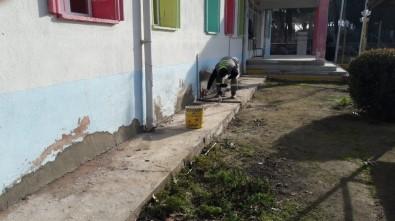 Alaşehir Belediyesi Okulların Bakımını Yaptı