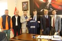 FEDERASYON BAŞKANI - Başkandan İl Müdürü Fillikçioğlu'na Ziyaret