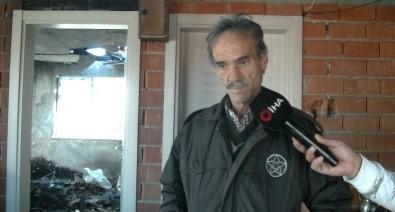 Çatısız Evde Yaşayan Görme Engelli Yardım Bekliyor