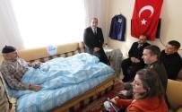 GAZİLER DERNEĞİ - Erciş'te Protokol Üyelerinden Gazi Ve Şehit Yakınlarına Ziyaret