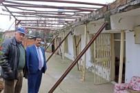MUSTAFA YıLMAZ - Evlerinin Yıkılmaması İçin Demir Profillerle Önlem Almaya Çalışıyorlar