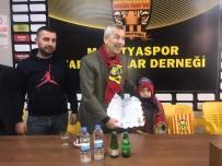 MALATYASPOR - Haluk Cömertoğlu, Malatyaspor Taraftarlar Derneği Onursal Üyesi Oldu