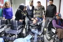 TEKERLEKLİ SANDALYE - Kahramanmaraş Kağıt Sanayi 10 Engelliye Umut Oldu