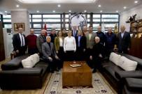 GÖKMEYDAN - Mahalle Muhtarları Başkan Kurt'u Ziyaret Etti