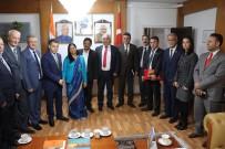 HINDISTAN - SANKON'dan Hindistan Büyükelçiliği'ne Ziyaret