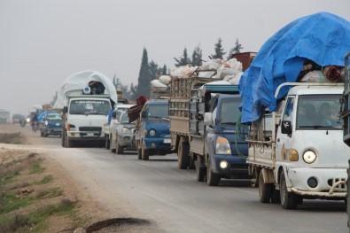 Suriye'de Rejim Güçlerinin Yeni Oyunu Açıklaması 'Sosyal Medya'dan Göçe Zorlama'