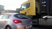 ULAŞıM KOORDINASYON MERKEZI - Tır Sürücüleri Yasağı Hiçe Saydı E5'e Girdi