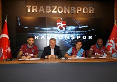 Trabzonspor, Guilherme, Da Costa Ve Messias İle Sözleşme İmzaladı