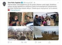 POLİS TEŞKİLATI - Türk Polis Teşkilatı Ve Jandarma'dan Karşılıklı Jest Açıklaması 'Birlikte Daha Güçlüyüz'