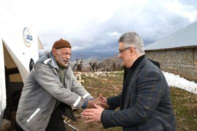 Vali Aykut Pekmez, Gerger İlçesinde İncelemelerde Bulundu