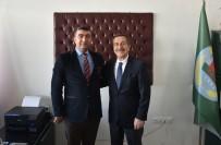 Başkan Ataç'tan Erol'a Hayırlı Olsun Ziyareti