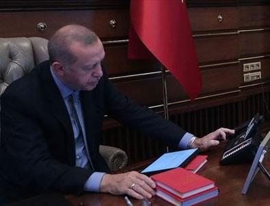 Cumhurbaşkanı Erdoğan İran Cumhurbaşkanı Ruhani ve Irak Cumhurbaşkanı Salihi ile görüştü