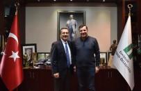 Milletvekili Ceylan'dan Başkan Ataç'a Ziyaret