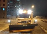 Nevşehir Belediyesi Ekipleri Tuzlama Çalışmalarını Aralıksız Sürdürüyor