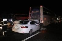 TEM'de Trafik Kazası Açıklaması 2'Si Ağır 3 Yaralı