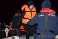 KUZEY EGE - Ayvalık'ta 41 Göçmen Yakalandı