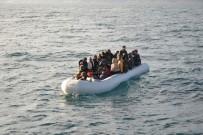 FILISTIN - İzmir'de Bir Düzensiz Göçmen Operasyonu Daha