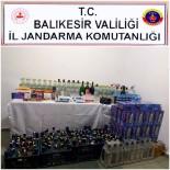 Jandarmadan Kaçak Sigara Ve Alkol Operasyonu