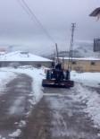 HAVA MUHALEFETİ - Kar, Darende'de Hayatı Olumsuz Etkiledi