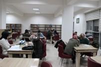 Kaymakam, Başkan Ve Müdürler Nöbette, Öğrenciler Kütüphanede