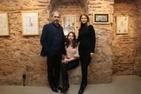 RESIM SERGISI - Mahkum Çocuklarının Çizdiği Resimlerden İlham Aldı, Sergi Açtı