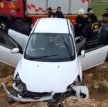 Mardin'de Otomobil Şarampole Yuvarlandı Açıklaması 3 Yaralı