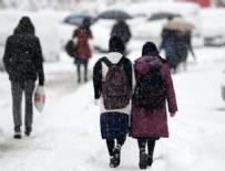 TAŞKALE - O ilçelerde eğitime kar engeli