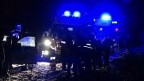 Otomobil 40 Metreden Uçtu Açıklaması 1 Ölü, 3 Yaralı