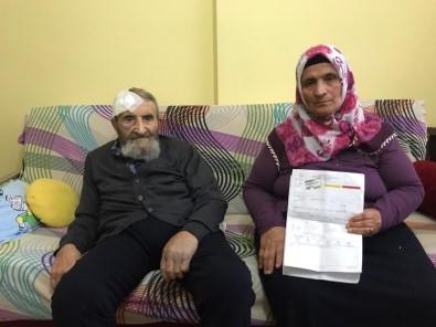 93 yaşındaki adamı dövüp gasp ettiler!