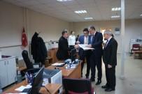 DENETİMLİ SERBESTLİK - Başsavcı Şen, Denetimli Serbestlik Müdürlüğünü Teftiş Etti