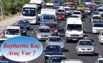 ARAÇ SAYISI - Bayburt'ta Trafiğe Kayıtlı Araç Sayısı 15 Bin 614 Oldu