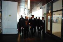 BILKENT - Bilkent Erzurum Okulları Erzurum Valisi Okay Memiş'i Ağırladı