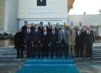 KAFKAS ÜNİVERSİTESİ - Bölge Rektörleri Kariyer Fuarı Gündemiyle Toplandı