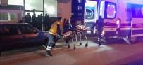 HITIT ÜNIVERSITESI - Evinin Önünde Silahlı Saldırıya Uğradı, Kahvehaneye Sığındı
