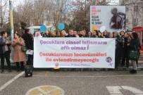 ÇOCUK İSTİSMARI - Kadın Platformu Çocuk İstismarlarına Tepki Gösterdi