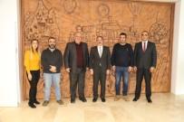 Küresel Gazeteciler Konseyi'nden Rektör Bağlı'ya Ziyaret
