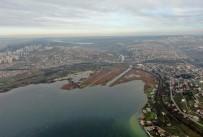 (Özel) Kanal İstanbul Güzergahı Havadan Görüntülendi