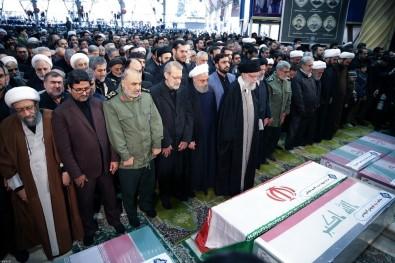 Tahran'da Süleymani için cenaze töreni