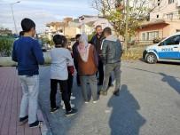 TÜRKIYE ELEKTRIK İLETIM - Yüksek Gerilim Hattına Mahalle Sakinleri Engel Oldu
