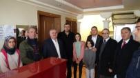 ERMENEK - AK Parti'den Darp Edilen Otel İşletmecisine Gençmiş Olsun Ziyareti