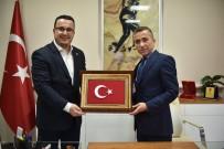 Başkan Kanar'dan Emniyet Müdürü Mithat Öztaş'a Ziyaret