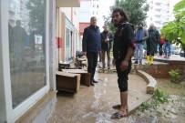 AŞIRI YAĞIŞ - Başkan Tarhan, Yağıştan Etkilenen Bölgelerde İncelemelerde Bulundu