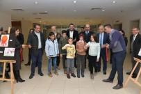RESIM SERGISI - 'Çocukların Gözünden Çiğli Belediyespor' İsimli Sergiye Yoğun İlgi