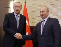 MÜZAKERE - Cumhurbaşkanı Erdoğan ile Putin, Libya ve Suriye krizini ele alacak