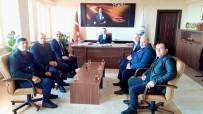 DATÜB Genel Sekreteri Uçar, Erzincan'da Görüşmeler Yaptı