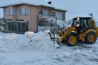 İnönü'de Karla Mücadele Çalışmaları Aralıksız Devam Ediyor