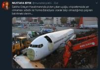İstanbul'da Pistten Çıkan Uçağa Yomra Belediyesinden Esprili Gönderme