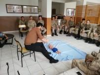Jandarma Ve Polise İlk Yardım Eğitimi Verildi
