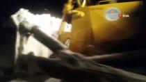 DEREKÖY - Mersin'in Yüksek Kesimlerinde Karla Mücadele Sürüyor